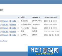 【源码已测试】MVC创建电影数据库应用程序源码